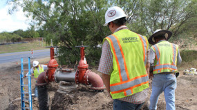 Water system installation San Antonio, Texas